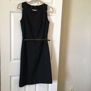 Talbots fully Lined Classic Black Dress LBD